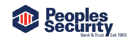 People's Security Bank and Trust