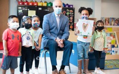 Senator Bob Casey visits the MCIU Early Learning Academy